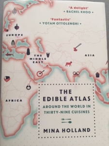 Edible Atlas by Mina Holland, World on a Plate, World food, tomato sauce, paprika