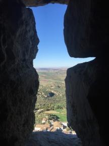An eye from the castillo
