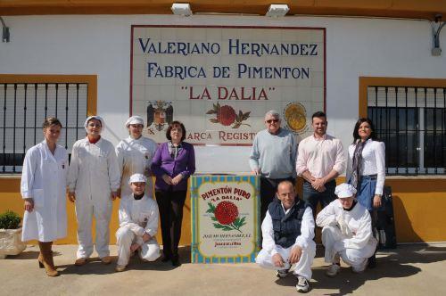 La Dalia Pimentón de la Vera, Extremadura, paprika, Spain