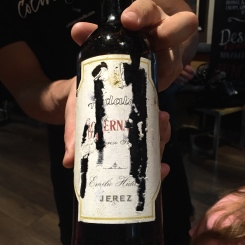 Oloroso as recommended by Shawn Hennessey