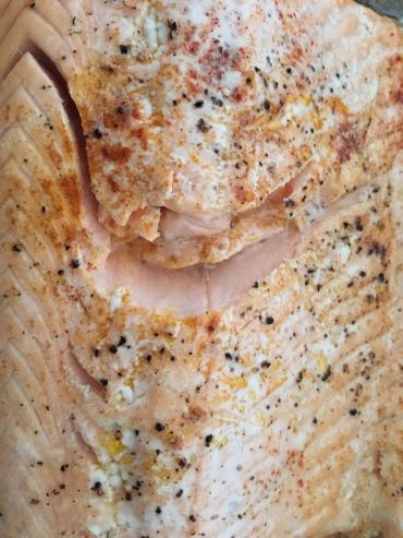 Salmon supper