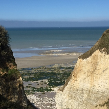 Valleuse des Moutiers, Varengeville, Côte d'albâtre, Alabaster Coast, Seine-Maritime, Normandy, France, Dubai, Arabia, Arabian Peninuslar, English Channel, Beach, Plage, Valleuse, Dieppe, Monet, Claude Monet, Impressionists, Painting
