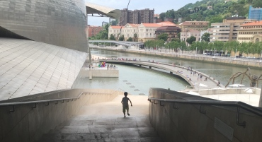 Bilbao, Spain, Euskadi, Basque, España, Vais País Vasco, Guggenheim, Museum, Museoa, Museo, Richard Serra, the Matter of Time, sculpture, sculptor, art, artwork, Anselm Kiefer, Sunflowers, masterpieces, airbnb, travel, travelling, family travel, travel with kids, wanderlust