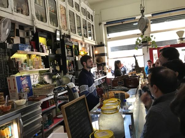 El Cabanyal, Valencia, Spain, España, tapas, tortilla, food, drink, bodega, Bodega la Peseta, bar, restaurant, local, people, travel, travel with kids, language, family travel, wanderlust, travel bug, traveling, blog, travelogue.