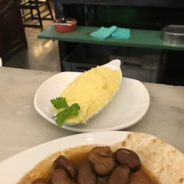 garlicky potato