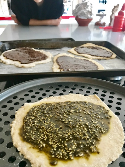 manakish, za'atar, #CookForSyria, Middle East, Levant, cooking, baking, bread, breakfast, travel, wanderlust, travel bug, UK, writing, recipe