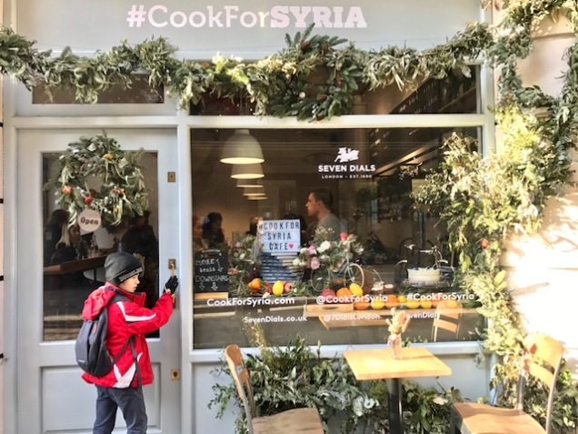 #CookForSyria, Unicef, Syria, children, war, Syrian cooking, cooking, Imad Alarnab, mezze, hummus, pop-up café, travel, culture, food, drink, travelling, za'atar, travel bug, wanderlust, London, UK