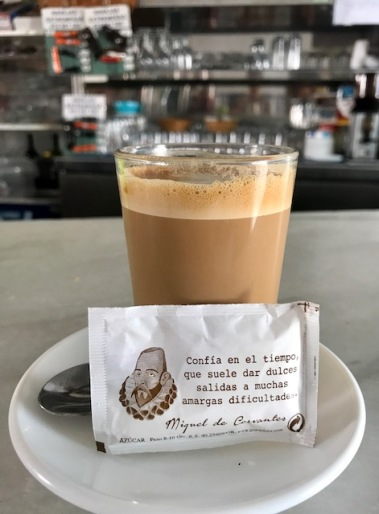 sugar, quotes, Spain, Andalucía, inspiration, philosophy, coffee, café, ColaCao, travel, travel bug, wanderlust, family travel, summer