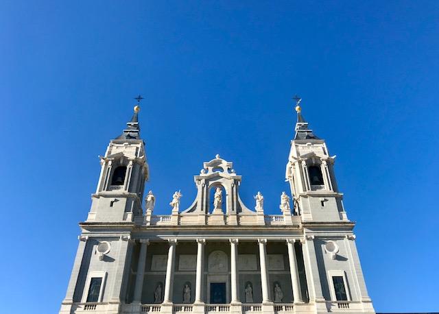 Madrid, Spain, España, city, Europe, Summer, cathedral, running, park