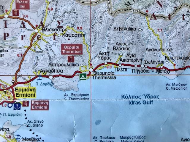 Thermisia, Ermione, Greece, bar, café, café culture, food, travel, Europe