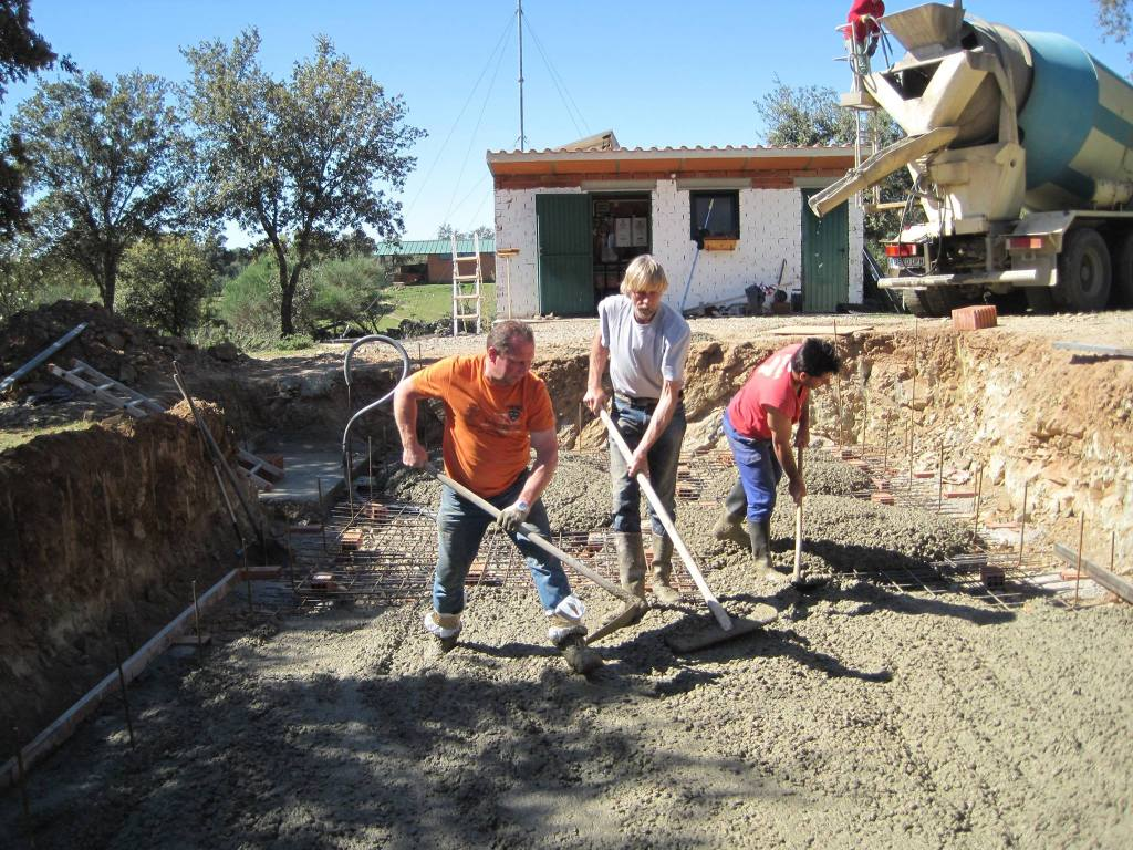 Finca las Cañadas, finca, farm, self-sufficiency, water, swimming, Spain, Extremadura